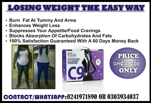 LOSING WEIGHT MADE EASIER WITH CLEAN9