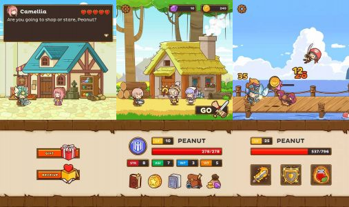 Postknight MOD Full Unlocked Unlimited Money v1.0.15 Apk Android Terbaru