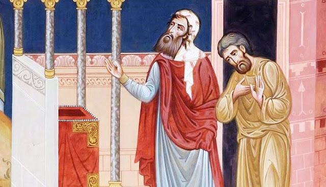 Безумне речи Беседа у недељу о митару и фарисеју