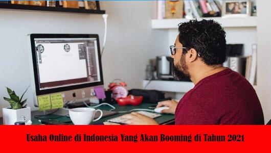 Usaha Online di Indonesia Yang Akan Booming di Tahun 2021