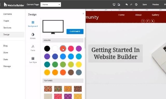 منصات تصميم المواقع