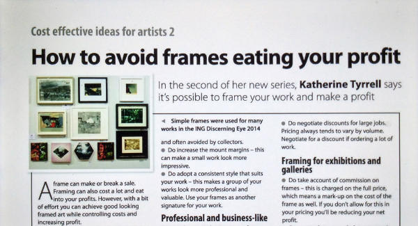 how to avoid frames eating your profit