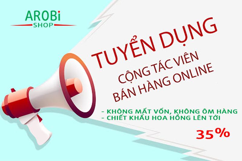 Tuyển cộng tác viên bán hàng online