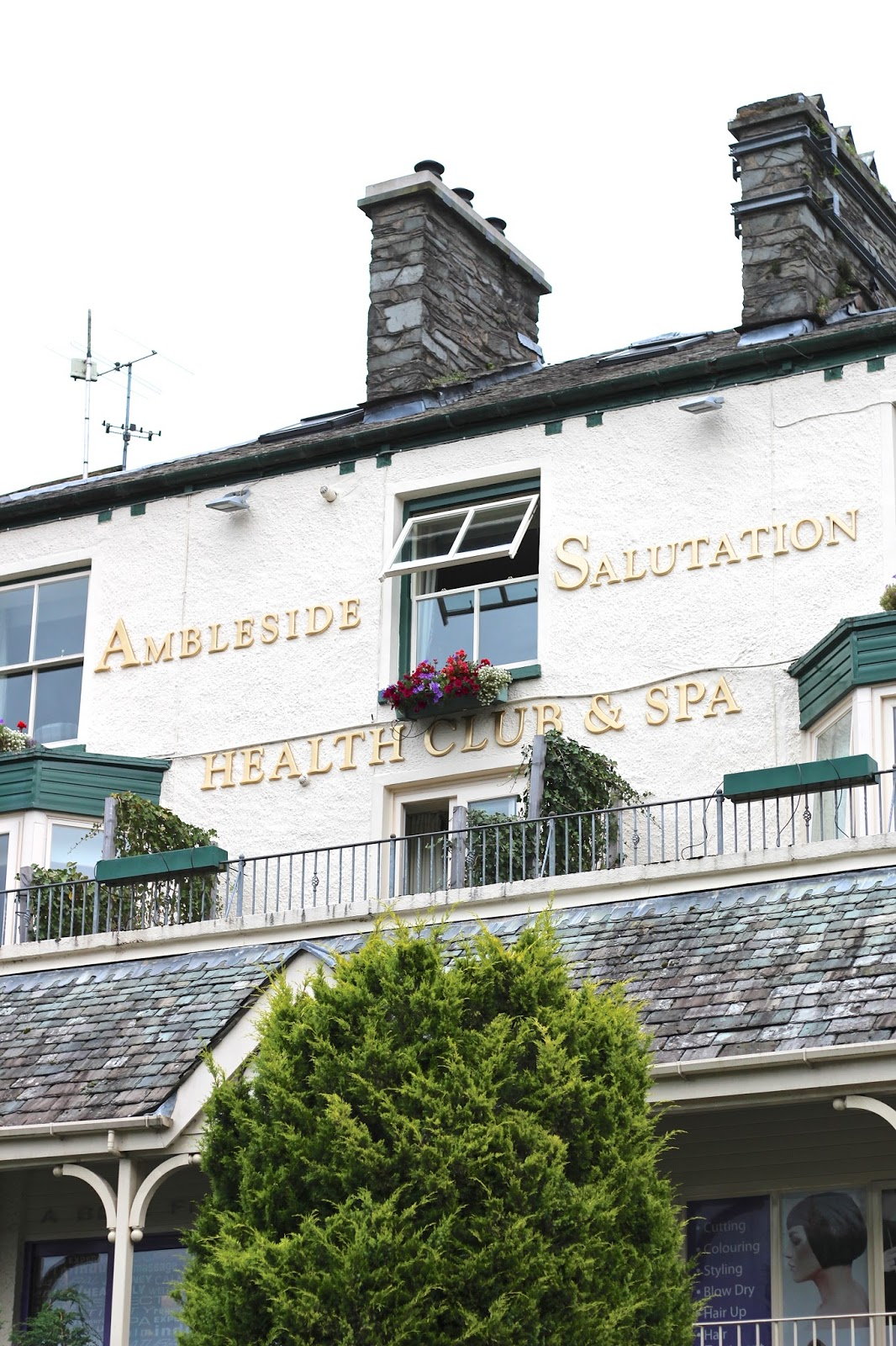 Ambleside Salutation Hotel travel blog review