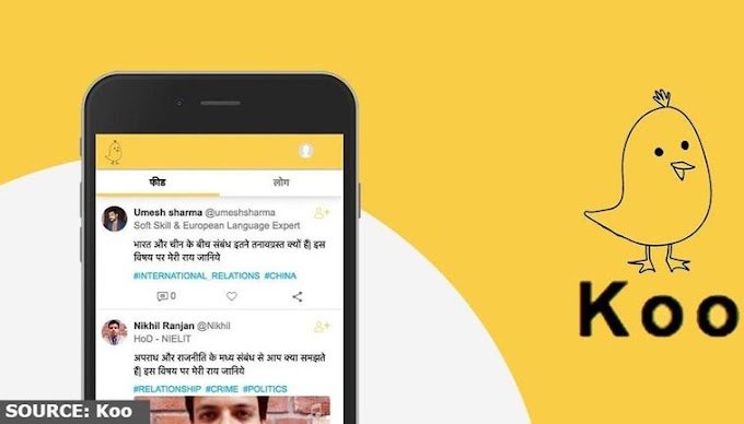 Twitter Rival App, Koo gets a High Jump on Google Play Store included in the Top Free App List