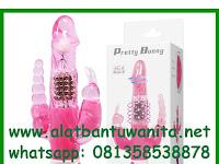 Alat Bantu Wanita Dildo Getar Maju Mundur Pretty Bunny