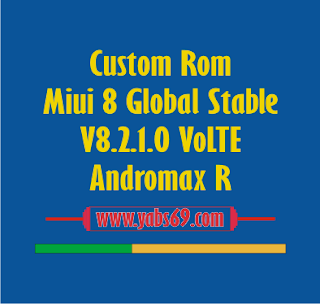 Custom Rom Miui 8 Global Stable V8.2.1.0 VoLTE For Andromax R