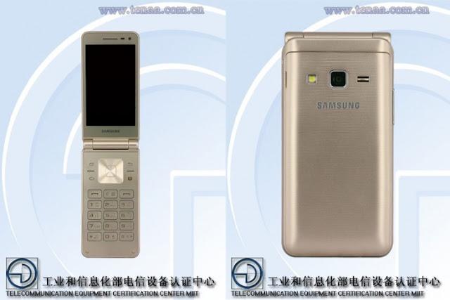Samsung Galaxy Folder 2 flip melewati TENAA