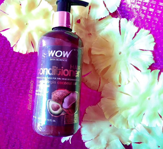 Wow Skin Science hair conditioner (Organic virgin coconut oil + avocado oil) Review
