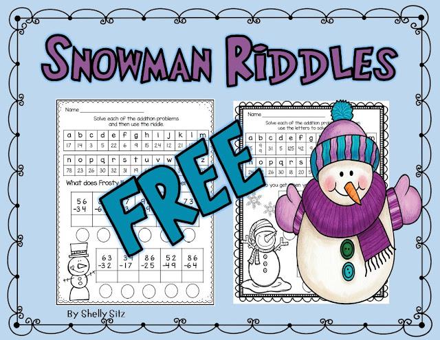 Winter Math Riddles