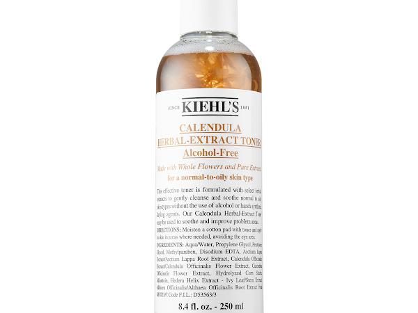 Skincare Review : Kiehl's Calendula Herbal Extract Alcohol Free Toner