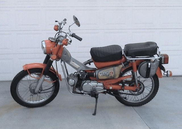 1974 Honda CT90