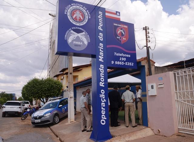 Barreiras recebe as novas sedes da Ronda Maria da Penha, CPRO, Base Comunitária de Segurança e Rondesp