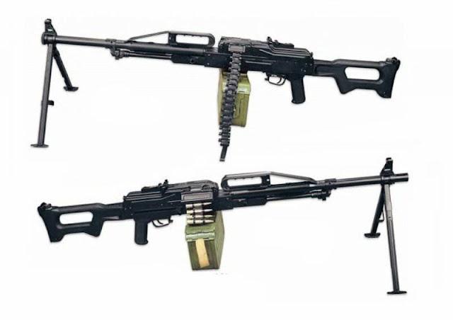 Единый пулемет «Печенег» на сошках