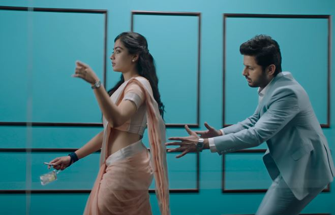 Bheeshma First Glimpse Released Starring Nithiin Rashmika Mandanna