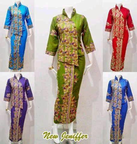 Baju Batik Wanita Seri New Jenifer Batik Bagoes Solo