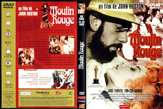 Moulin Rouge 1954 - Carátula dvd