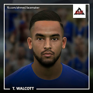 PES 2017 Faces Theo Walcott by Ben Hossam FaceMaker