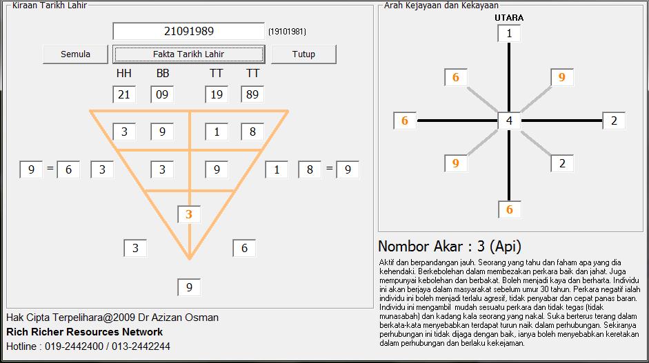 Metafizik Tarikh Lahir Software 14