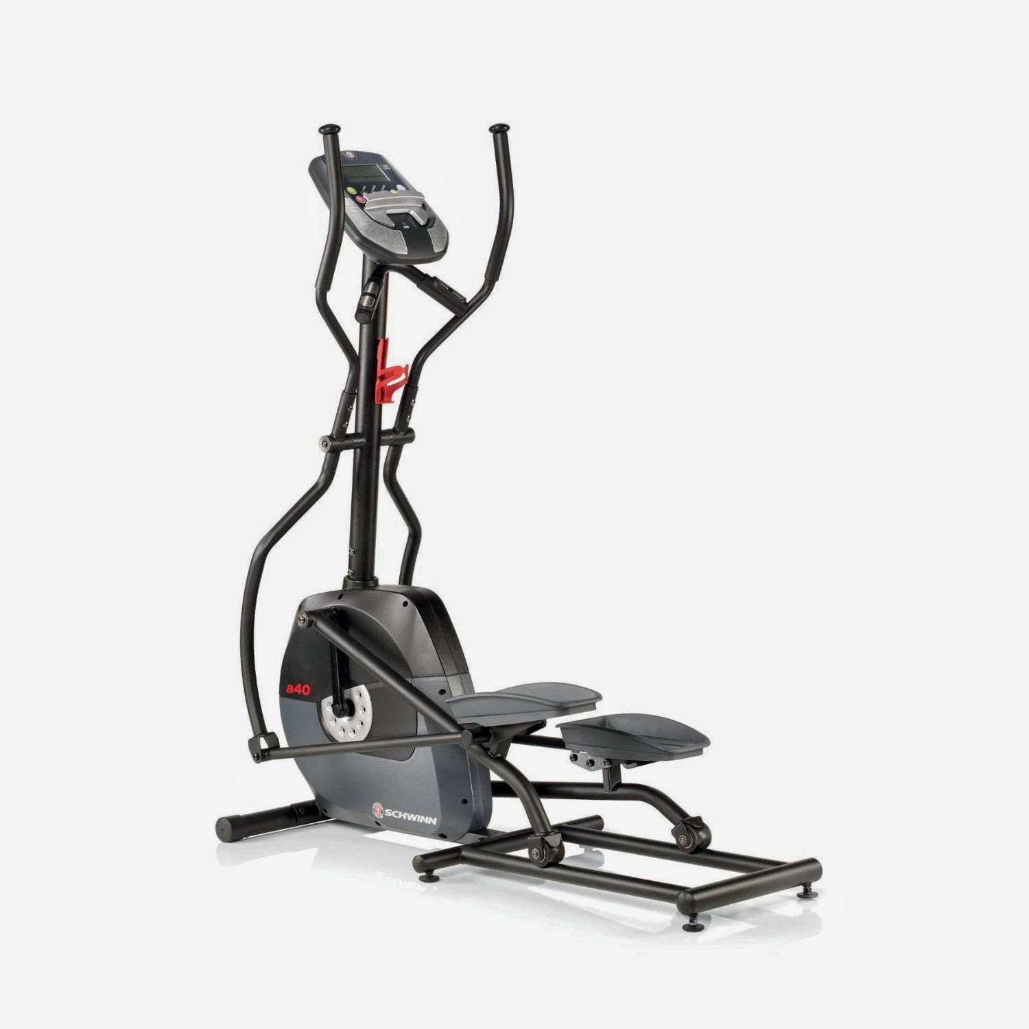 Schwinn A40 Elliptical Trainer Machine reviewed, features, 7 programs, 8 resistance levels, buy at low price