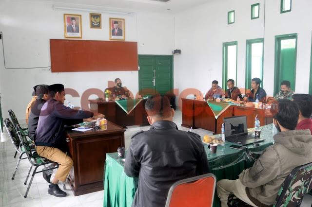 Dandim 0119/BM Letkol Inf Valyan Tatyunis Pimpin langsung Rapat Penghijaun Hutan di Bener Meriah