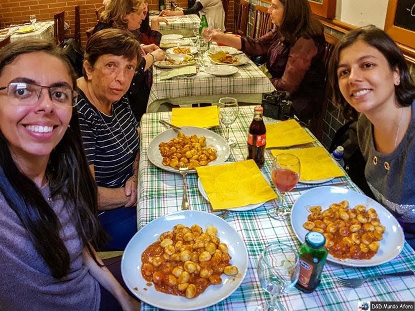 Tratoria italiana Romolo e Remo - Diário de Bordo: 3 dias em Roma