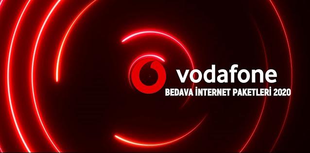 2020 Vodafone Bedava İnternet Paketleri