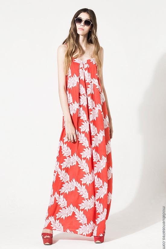 Vestidos de moda verano 2017. Moda mujer verano 2017 vestidos largos.