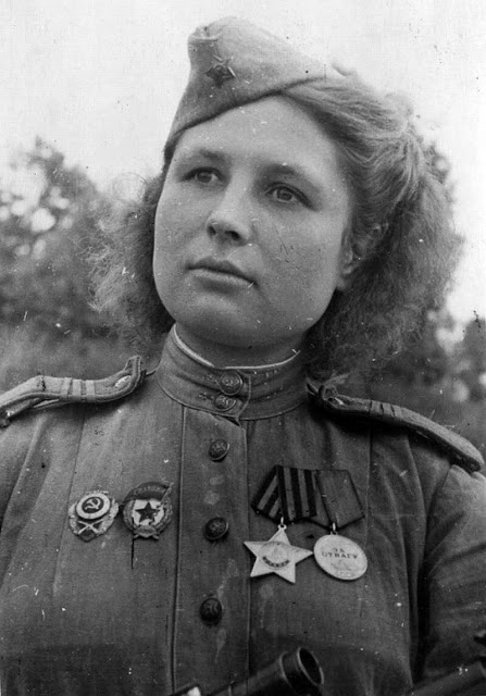 WW2 Soviet Sniper Julia Petrovna. Killed 80 Germans