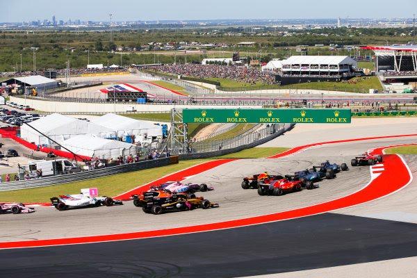2018 Formula 1 USA Grand Prix.