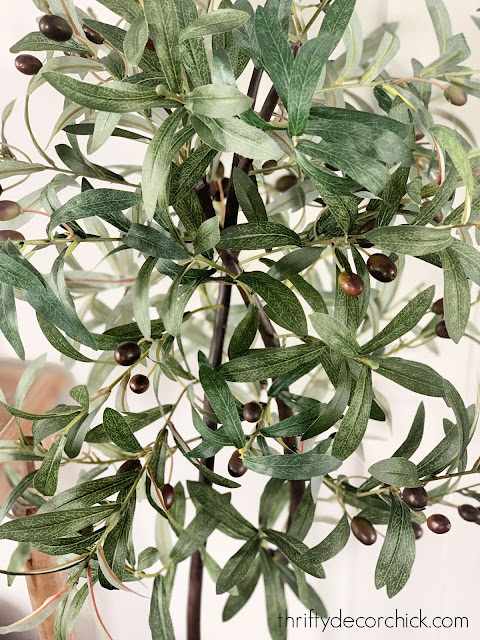 real looking olive tree