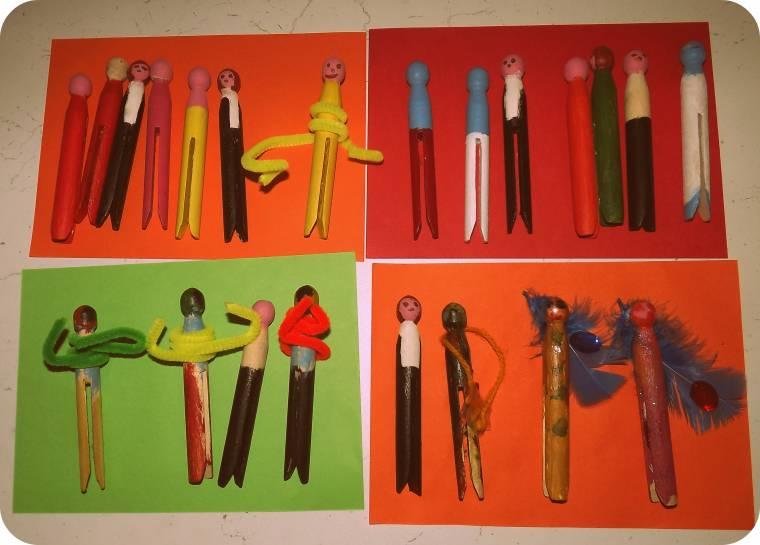 Peg Dolls Fun Craft Challenge