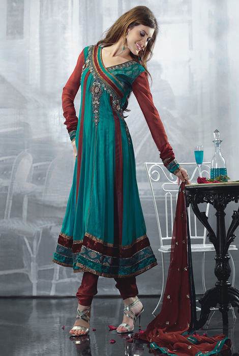 Latest Beautiful Designer Dress Designs For Girls