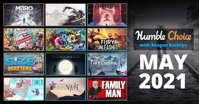 Humble Choice 2021 五月包,《戰慄深隧:流亡》及11款遊戲可選擇