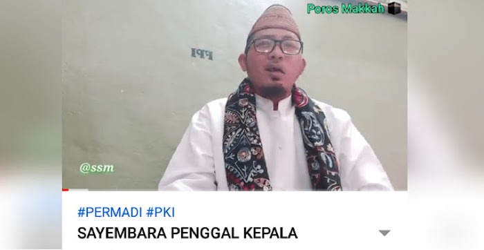 Beredar Video Pria Mengajak Umat Islam Memenggal Kepa1a Permadi Arya