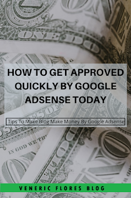 get accepted faster by google adsense pinterest pin
