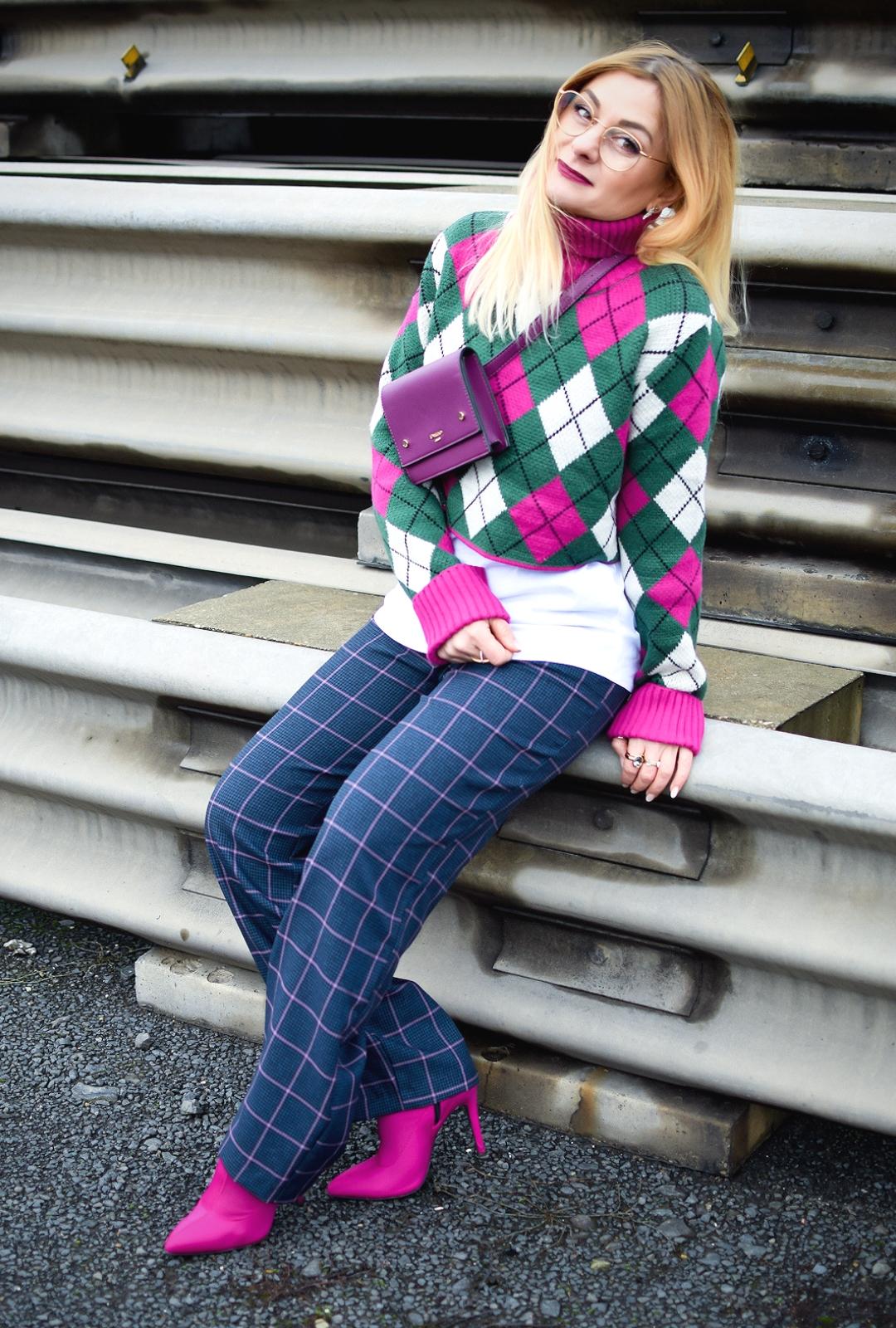 Kurze Pullover stylen, Crop Pullover kombinieren