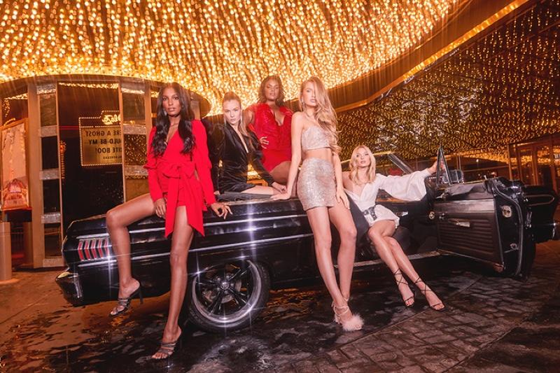 Elsa, Romee, Jasmine & Josephine Shine in Boohoo Holiday 2019 Campaign
