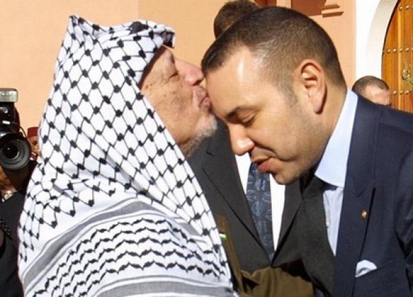 """الملك """"محمد السادس"""" يراسل الرئيس الفلسطيني ويؤكد له موقف المغرب الثابت من القضية الفلسطينية"""