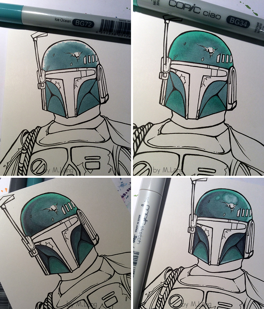 Copic Deutschland Blog: Boba Fett