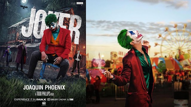 Joker Movie Concept - Background And PNG Free Download - Joker Movie Color Presets