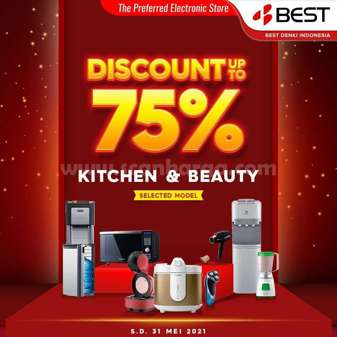Untuk anda yang memerlukan peralatan memasak didapur seperti Microwave, Dispenser, Blender, Magic com atau produk elektronik lain untuk kebutuhan dapur anda dengan yang baru. Bisa langsung belanja ke Best Denki aja.