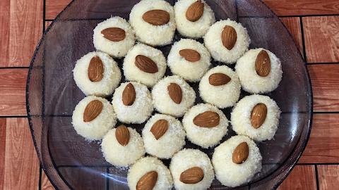 Instant Paneer Coconut Ladoo Recipe | Nariyal Paneer Laddu Recipe