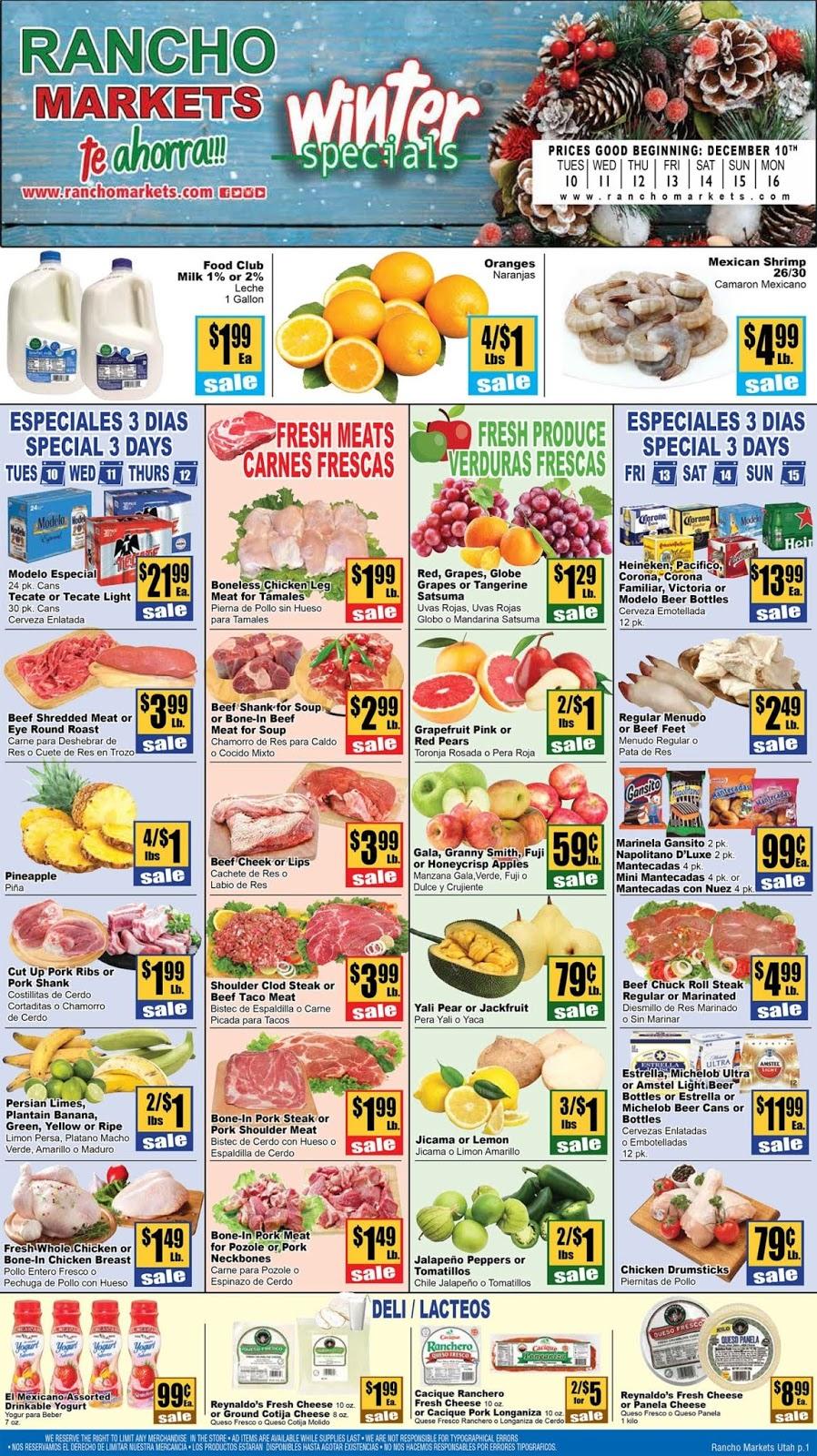 Rancho Markets Weekly Ad