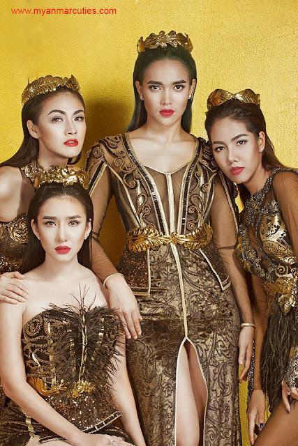 Nwe Darli Htun, Nansu Yati Soe, Aye Myat Thu, Gonyi Aye Kyaw