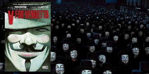 Alan Moore ve David Lloyd - V for Vendetta (Çizgi Roman)