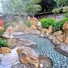 【鴻之湯】治癒白鸛腳傷的傳說溫泉池 庭園露天風呂景觀超美