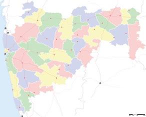 Maharashtra, Map, India State
