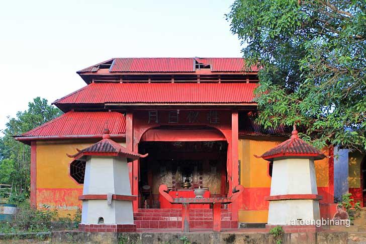 vihara sun go kong belitung timur