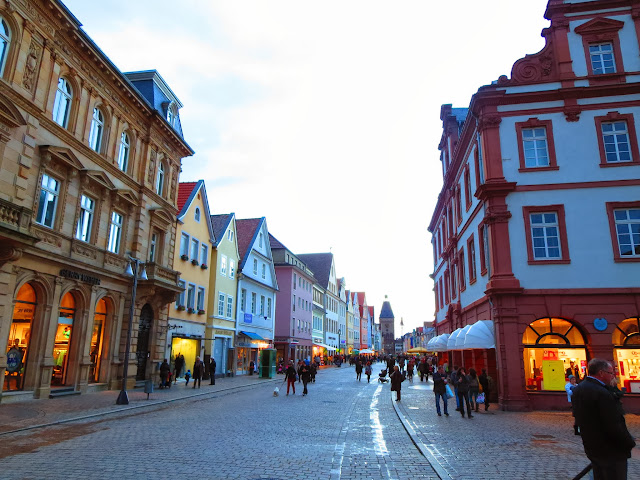 Shopping district of Speyer Germany